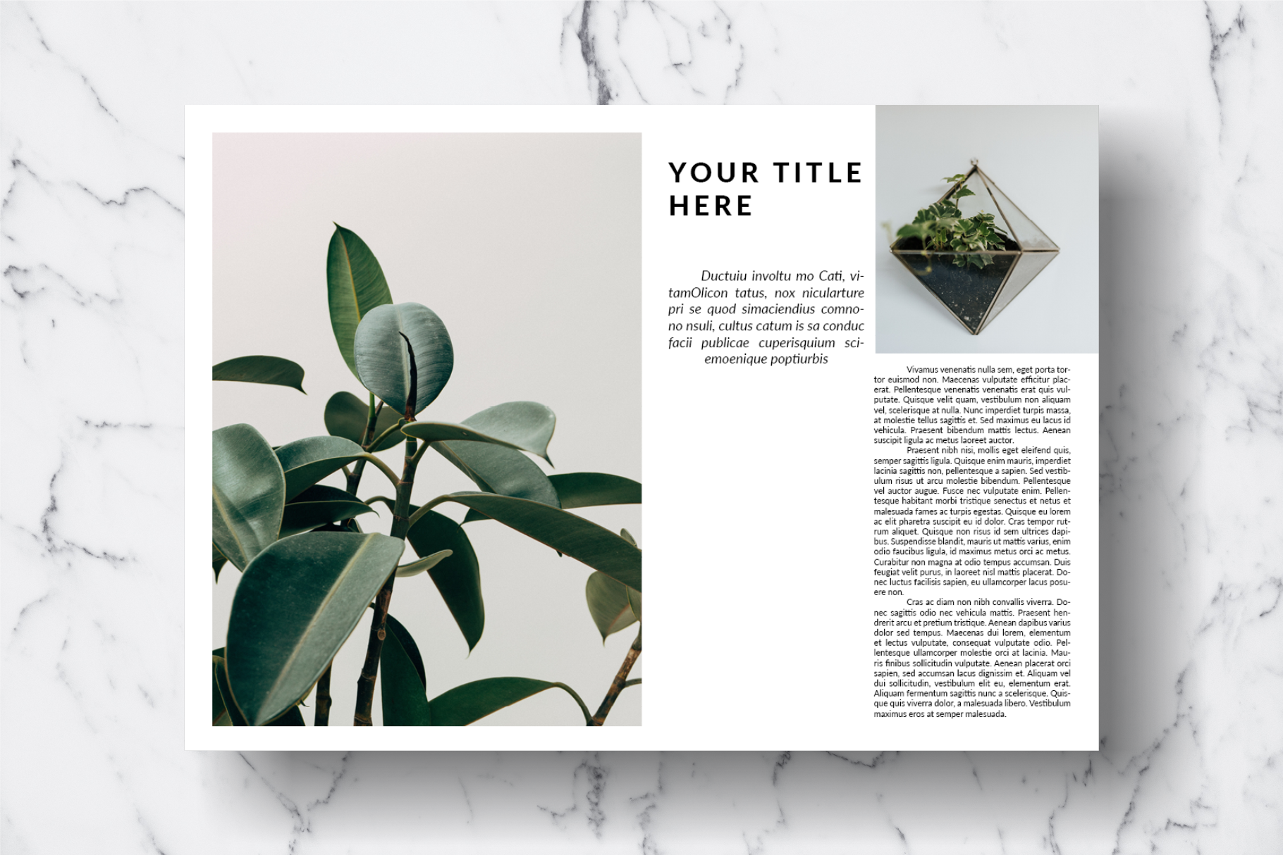 Magazine Template Vol. 14 example image 6