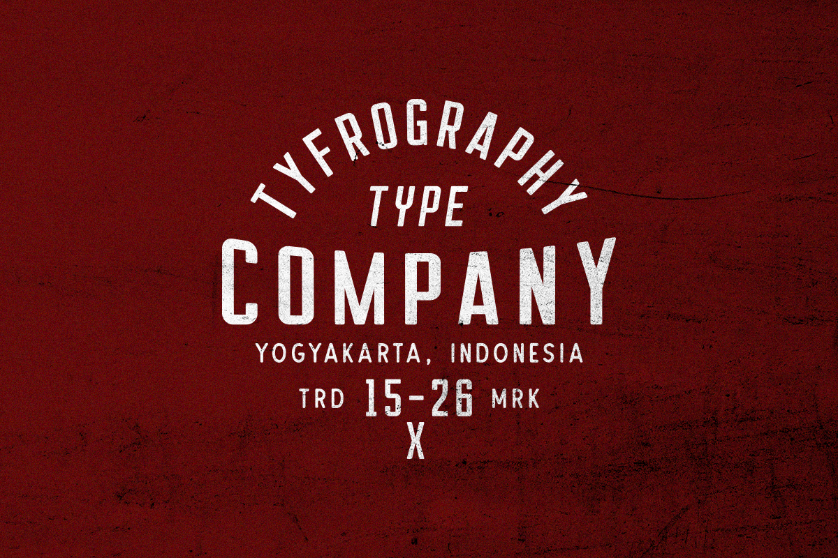 Courager Typeface (8 Fonts!) example image 5