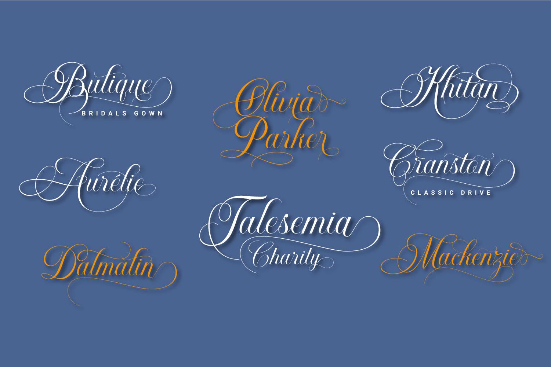 Khatija Calligraphy example image 15