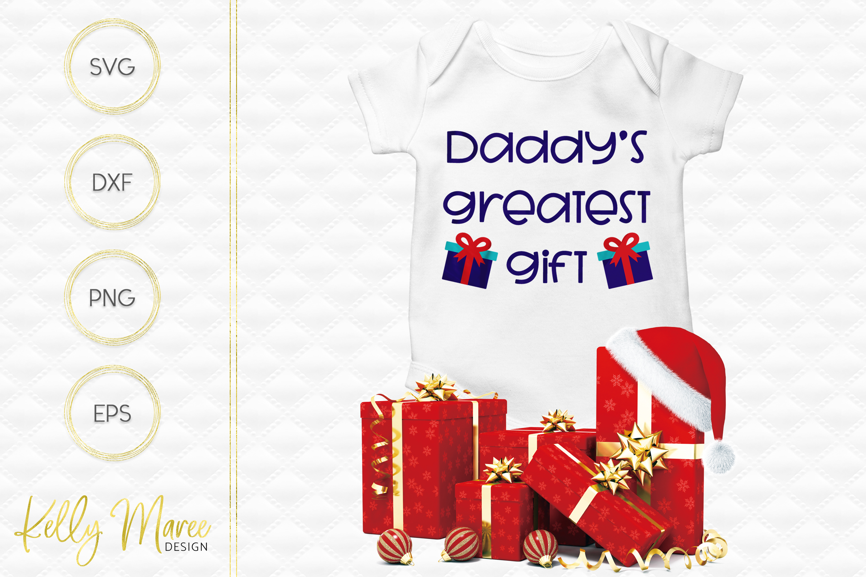Daddy's Greatest Gift SVG File example image 1