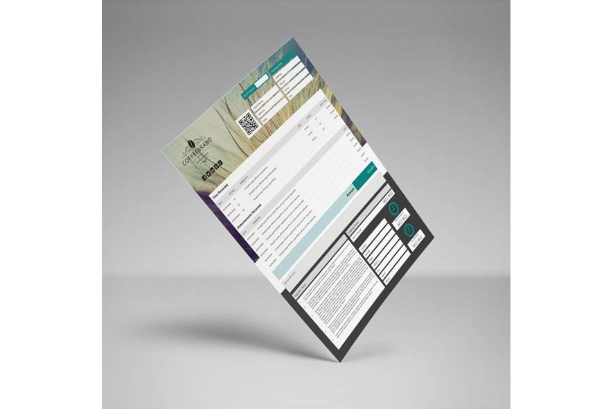 Invoice Template US Letter 4 Biz example image 5
