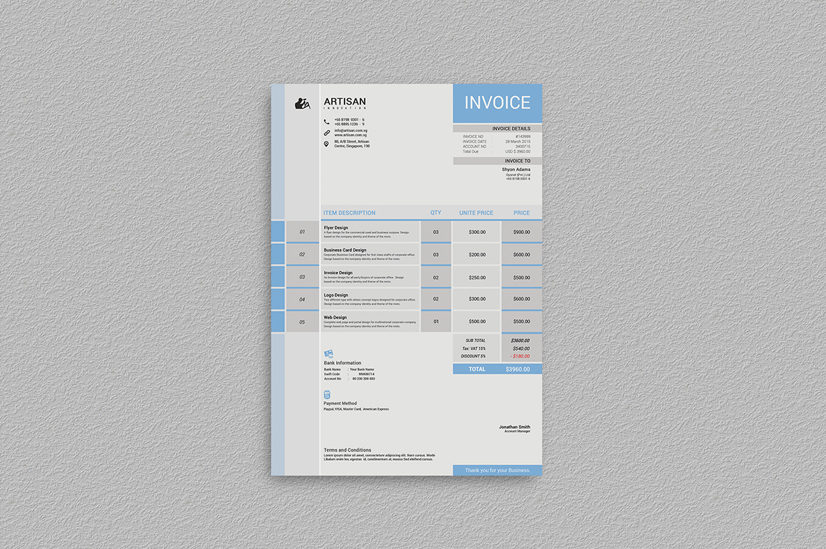 Invoice example image 6