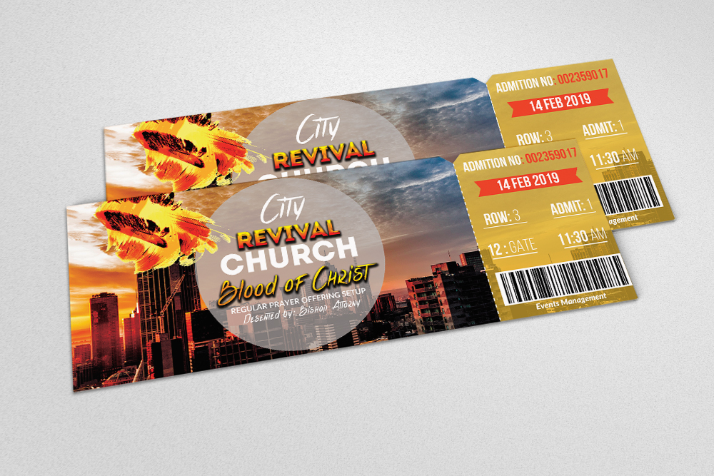 4 Party Event Tickets Bundle example image 3