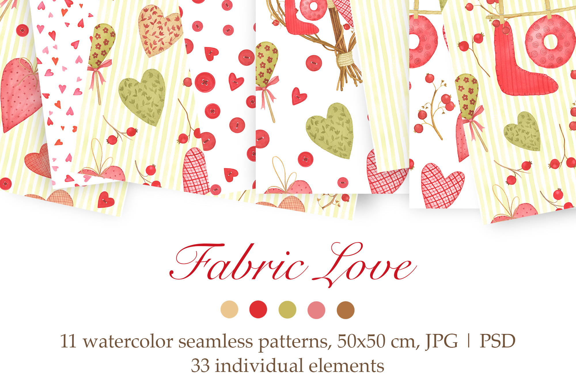 Valentine's Day Patterns example image 1