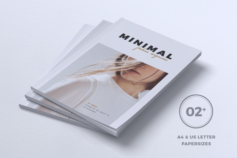 MINIMAL Lookbook Magazines Fashion example image 7