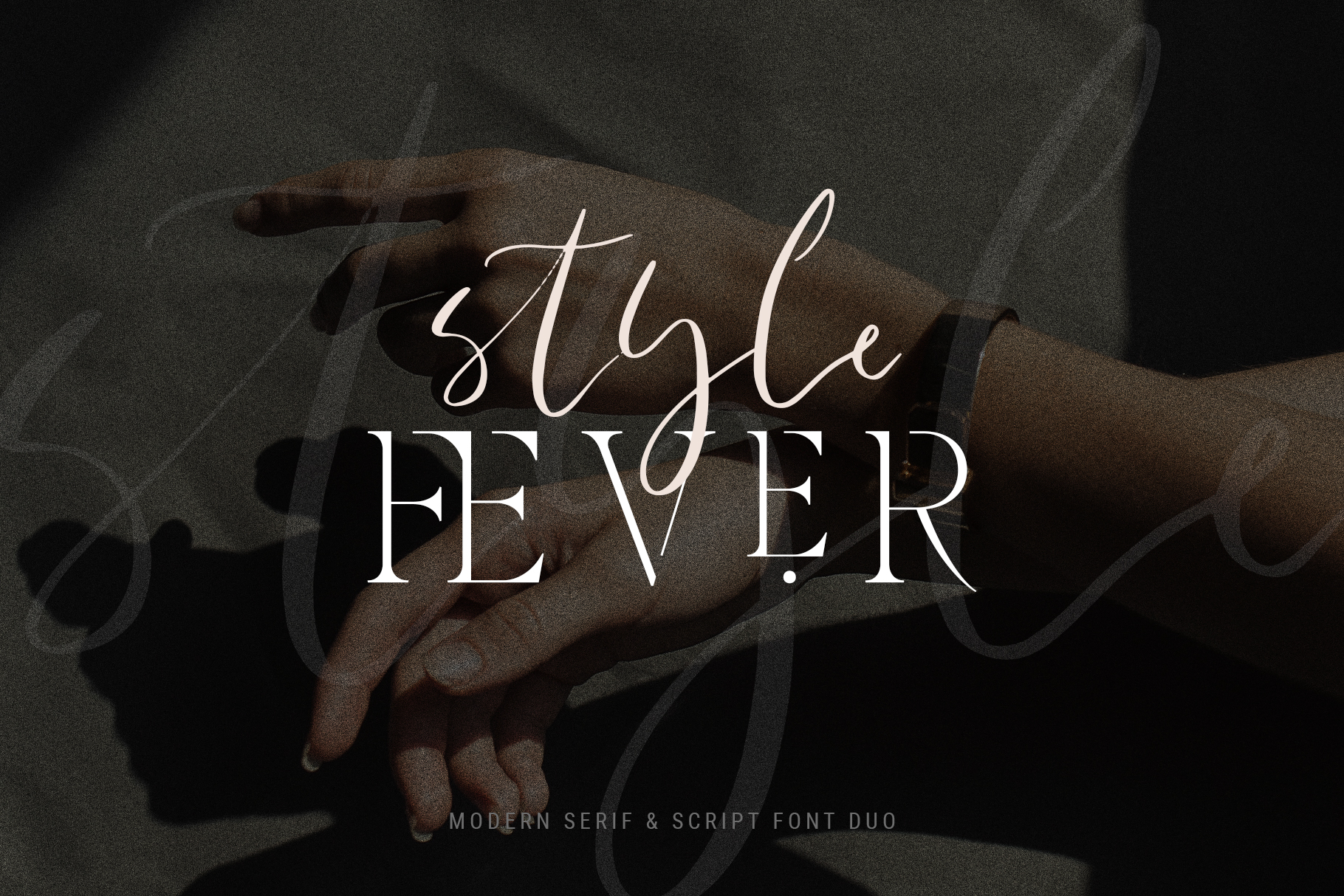 Verona Amore - Modern Serif & Script Font Duo & Extras example image 7