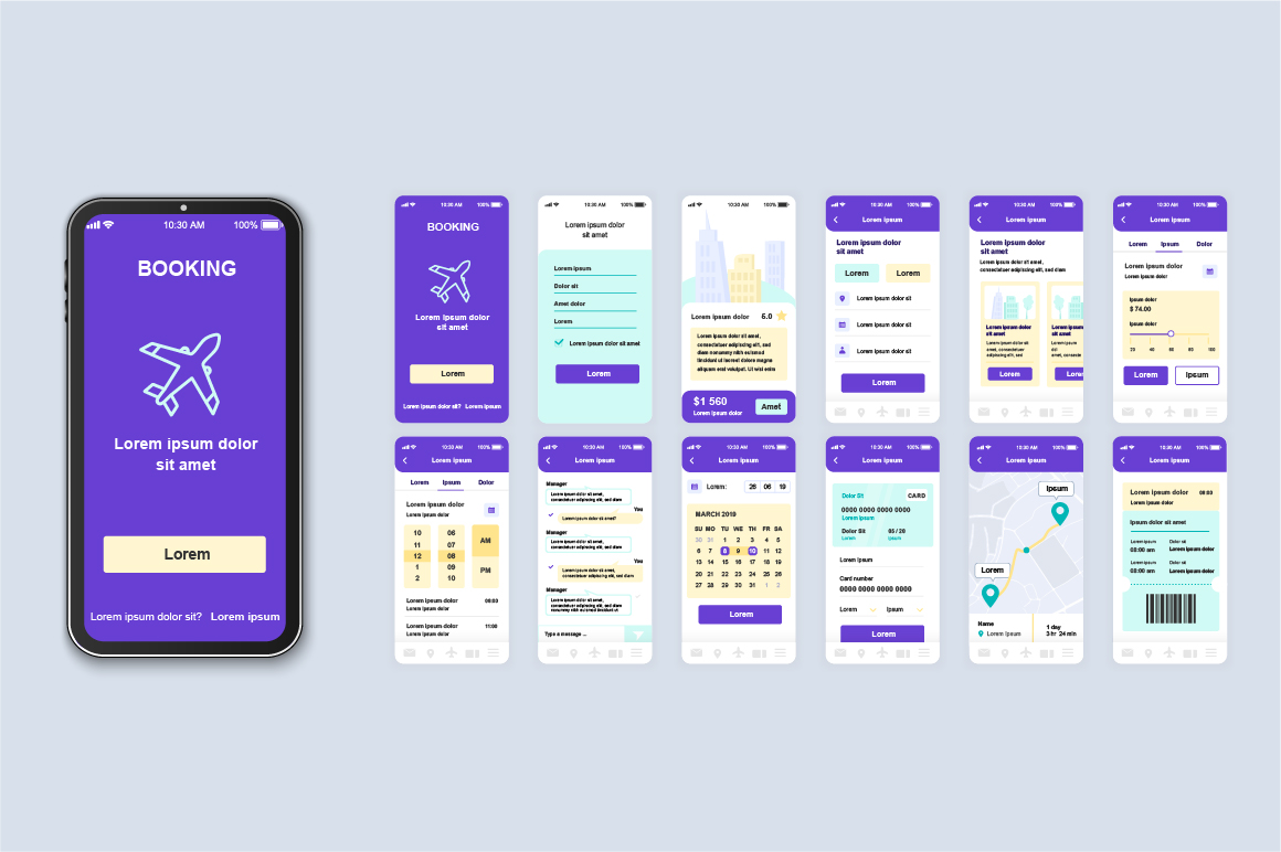 Bundle Mobile App UI Kit Screens example image 19