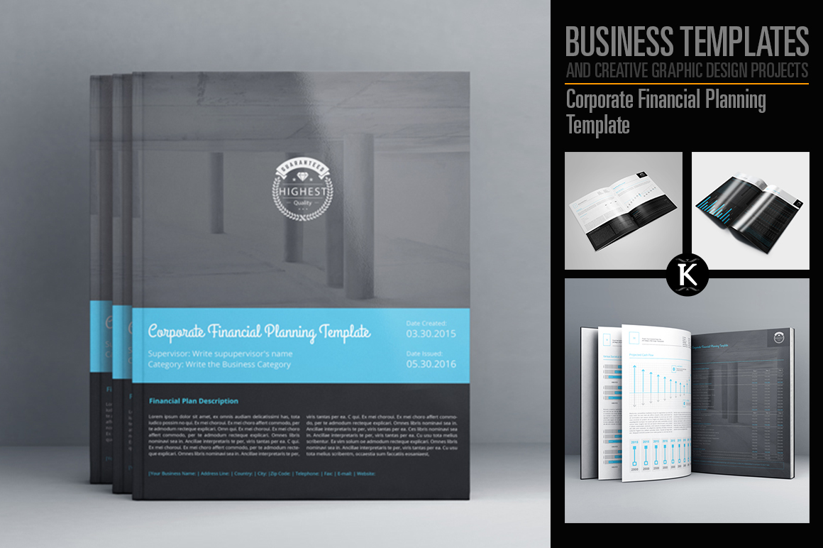 Corporate Financial Planning Template example image 1