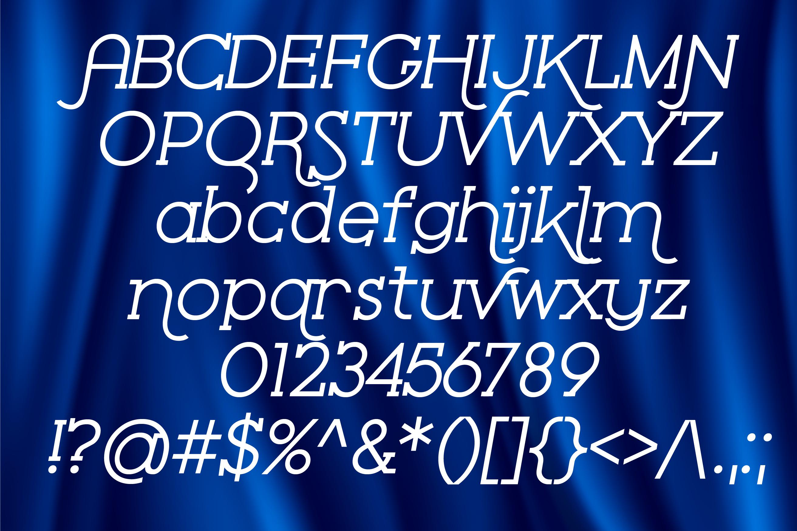 ZP Serif Velour example image 3
