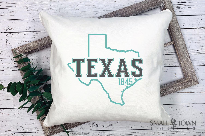 Texas, The Lone Star State slogan, logo, PRINT, CUT & DESIGN example image 5