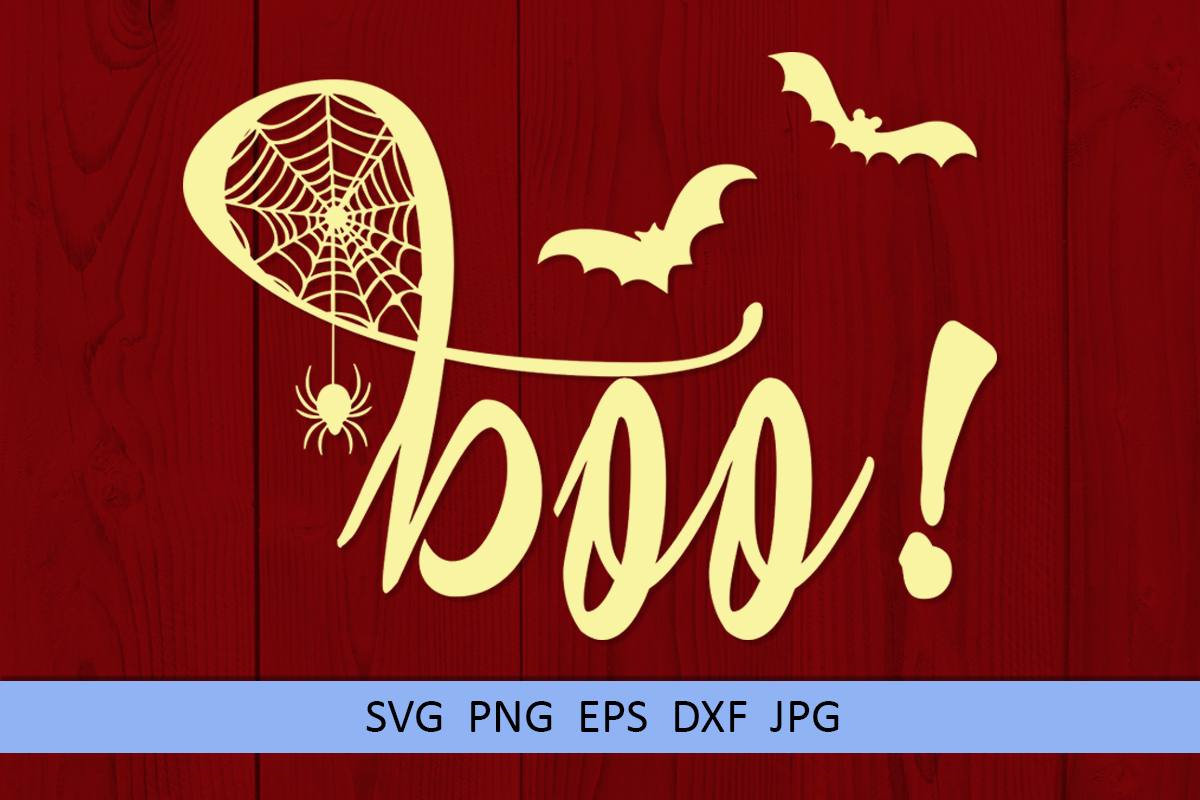 Halloween svg Boo svg Spider web svg Popular sayings svg example image 5