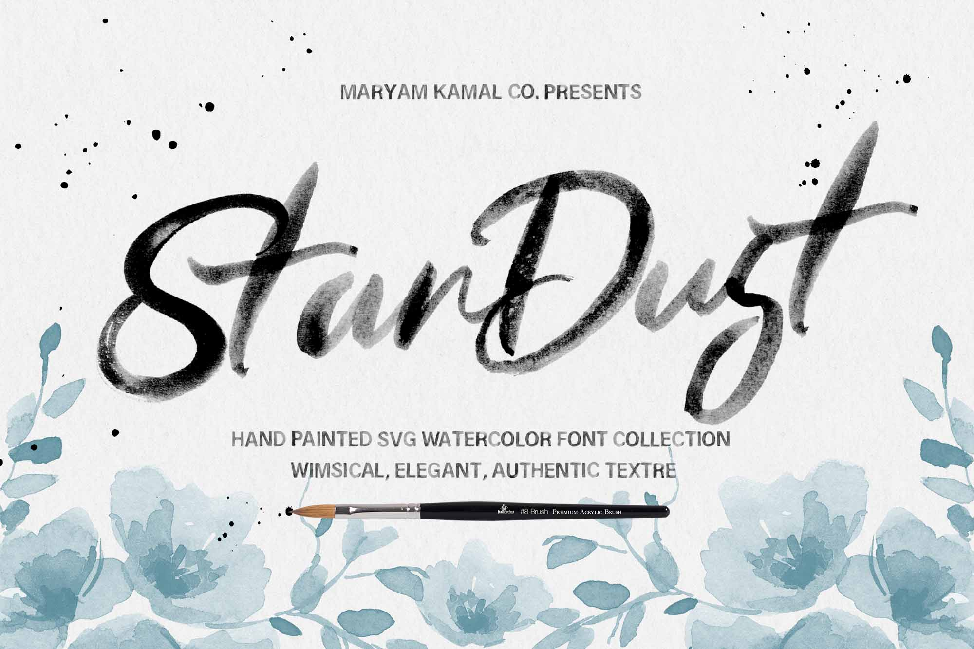 The Stardust Font Collection example image 1