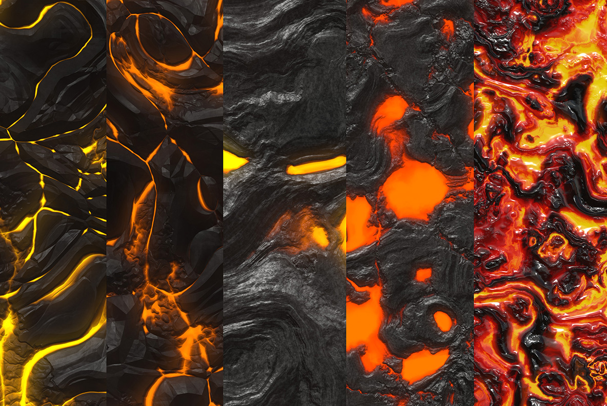 Fire and lava textures example image 2