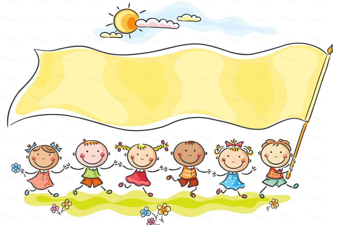 Happy Cartoon Kids Bundle, children doodle, kids doodle example image 7