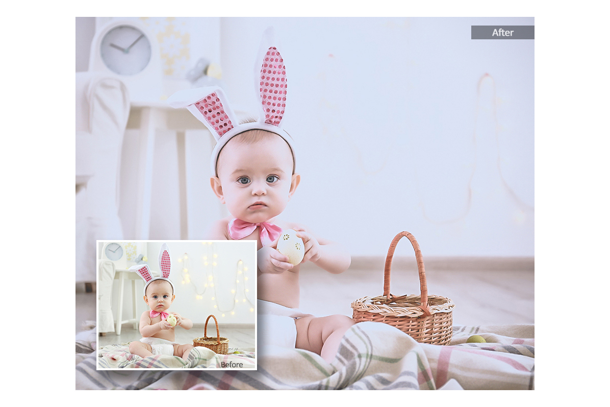 Baby Lightroom Mobile Presets Adroid and Iphone/Ipad example image 5