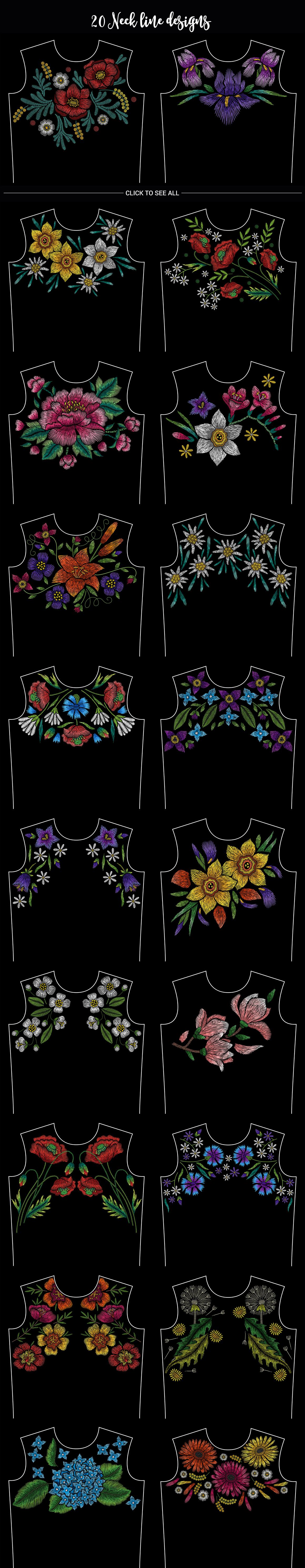 Embroidery Mega Bundle example image 9