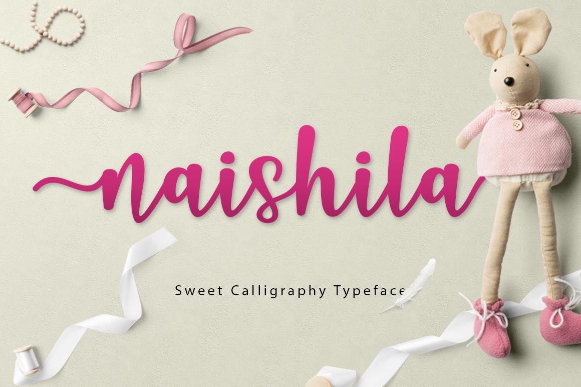 Naishila Font Duo example image 4