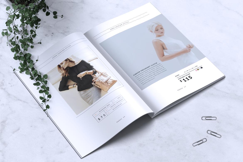 Anna Lookbook/Magazine Fashion example image 10