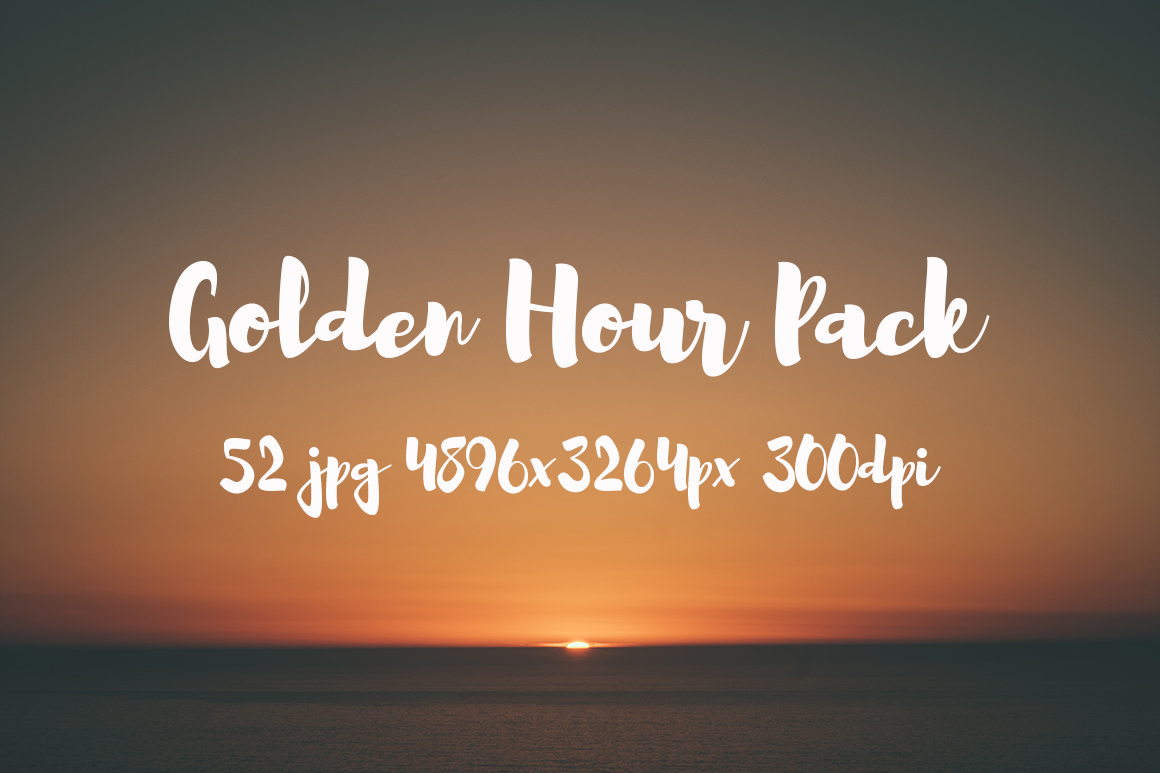 Golden hour Pack example image 16