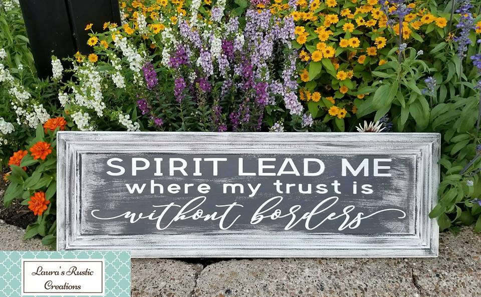 Spirit Lead Me Where My Trust Is Without Borders  example image 4