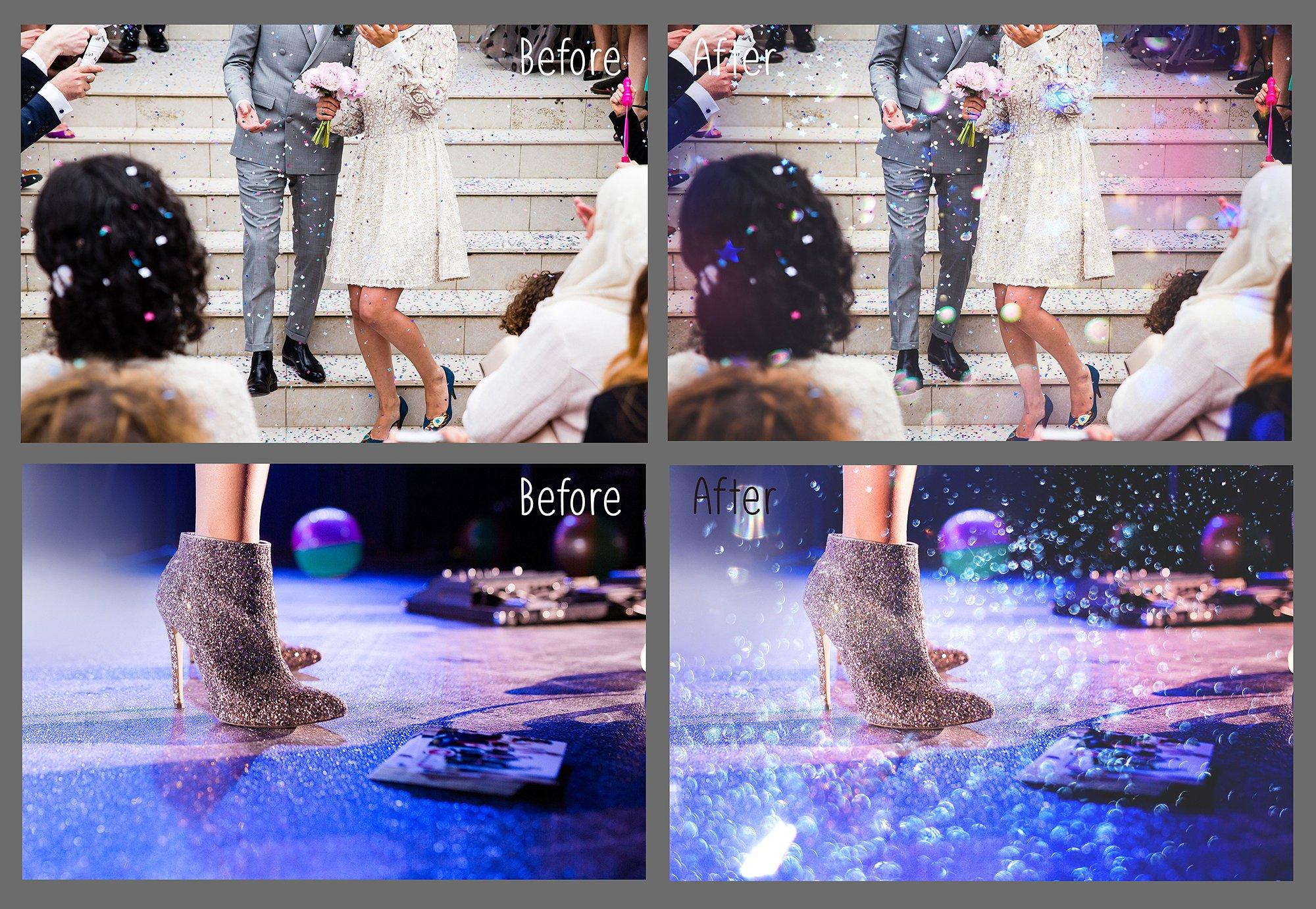 Glitter Effect Photoshop Overlays example image 6