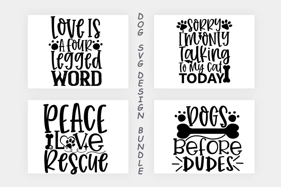 Dog SVG Design Bundle example image 8