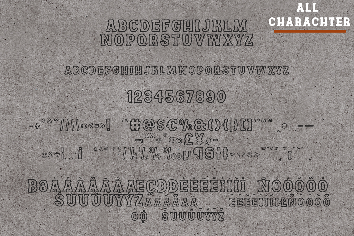 Channles - Family Vintage Font example image 8