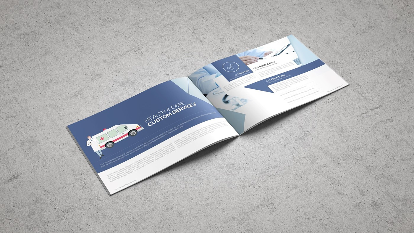 Health & Care Brochure Template example image 10