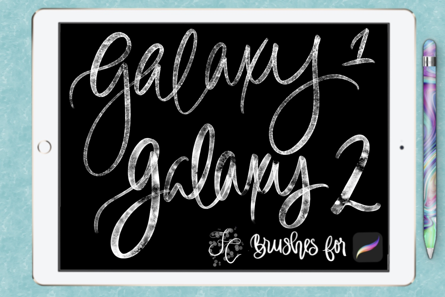 FC-galaxy-set1for PROCREATE example image 10