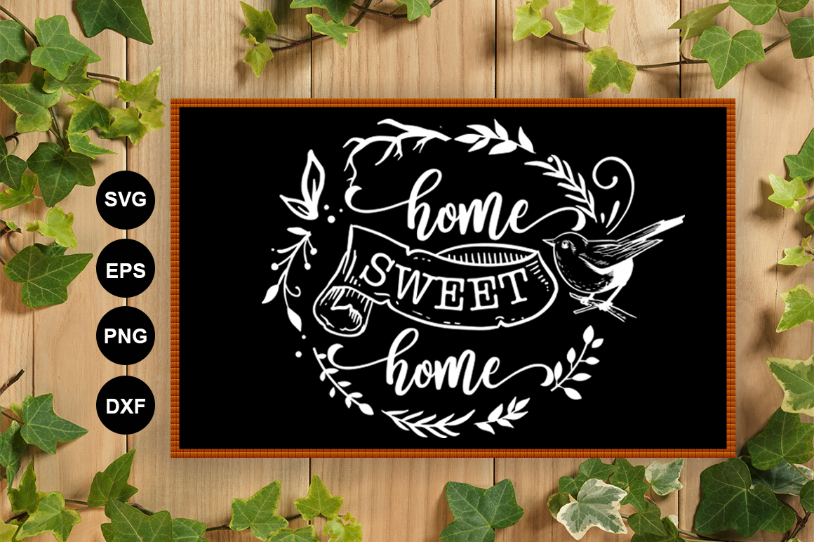 Home Sweet Home SVG example image 2