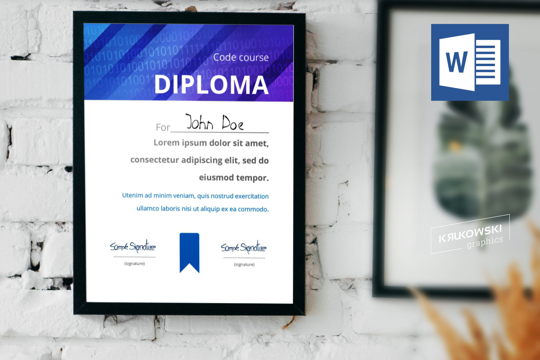 10 Diploma Templates .doc Bundle Pack 50 off example image 2