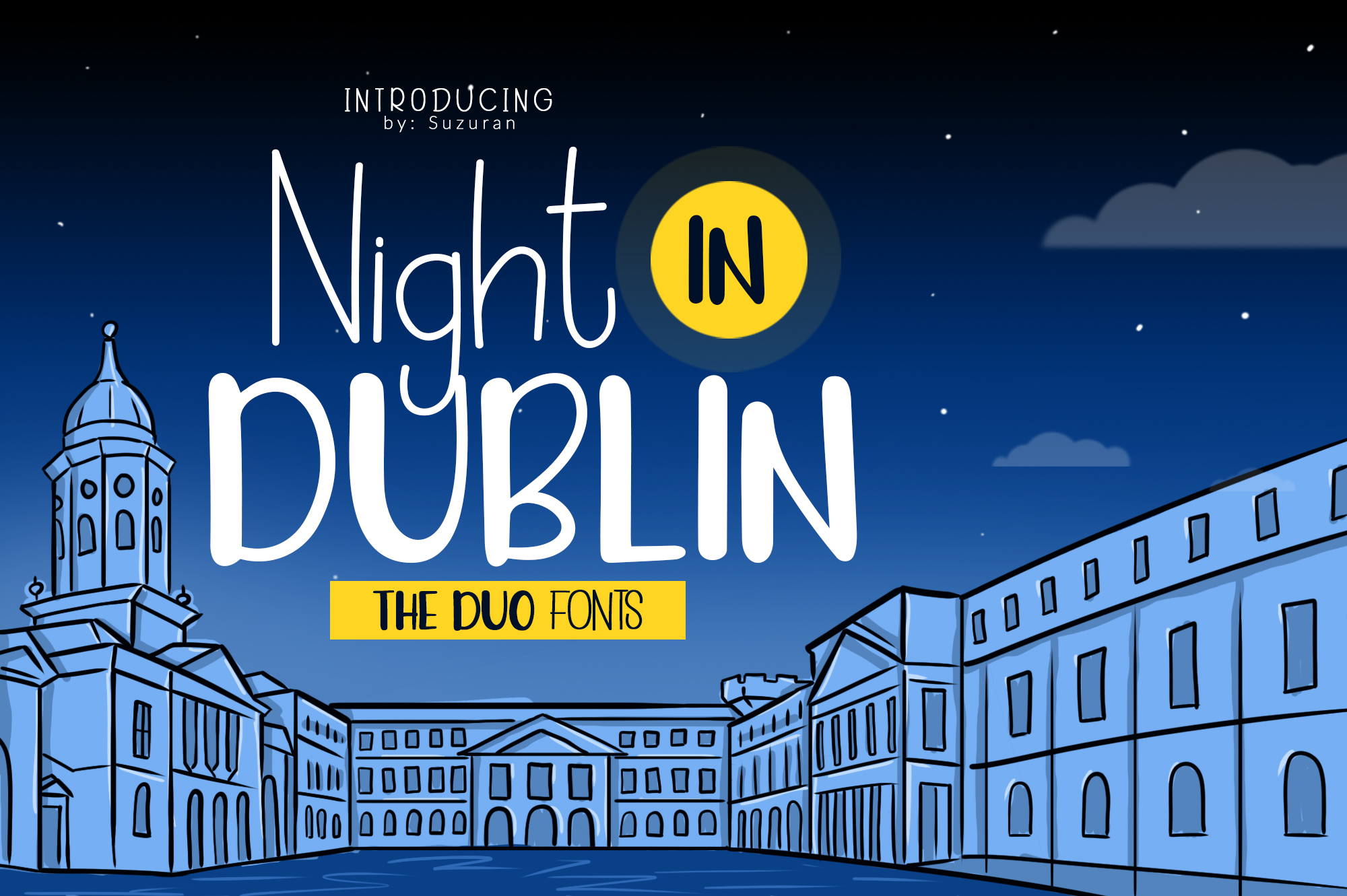 Night in Dublin example image 1