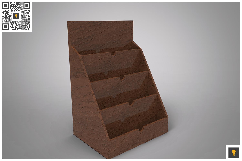 Business Card Holder 3D Render example image 7