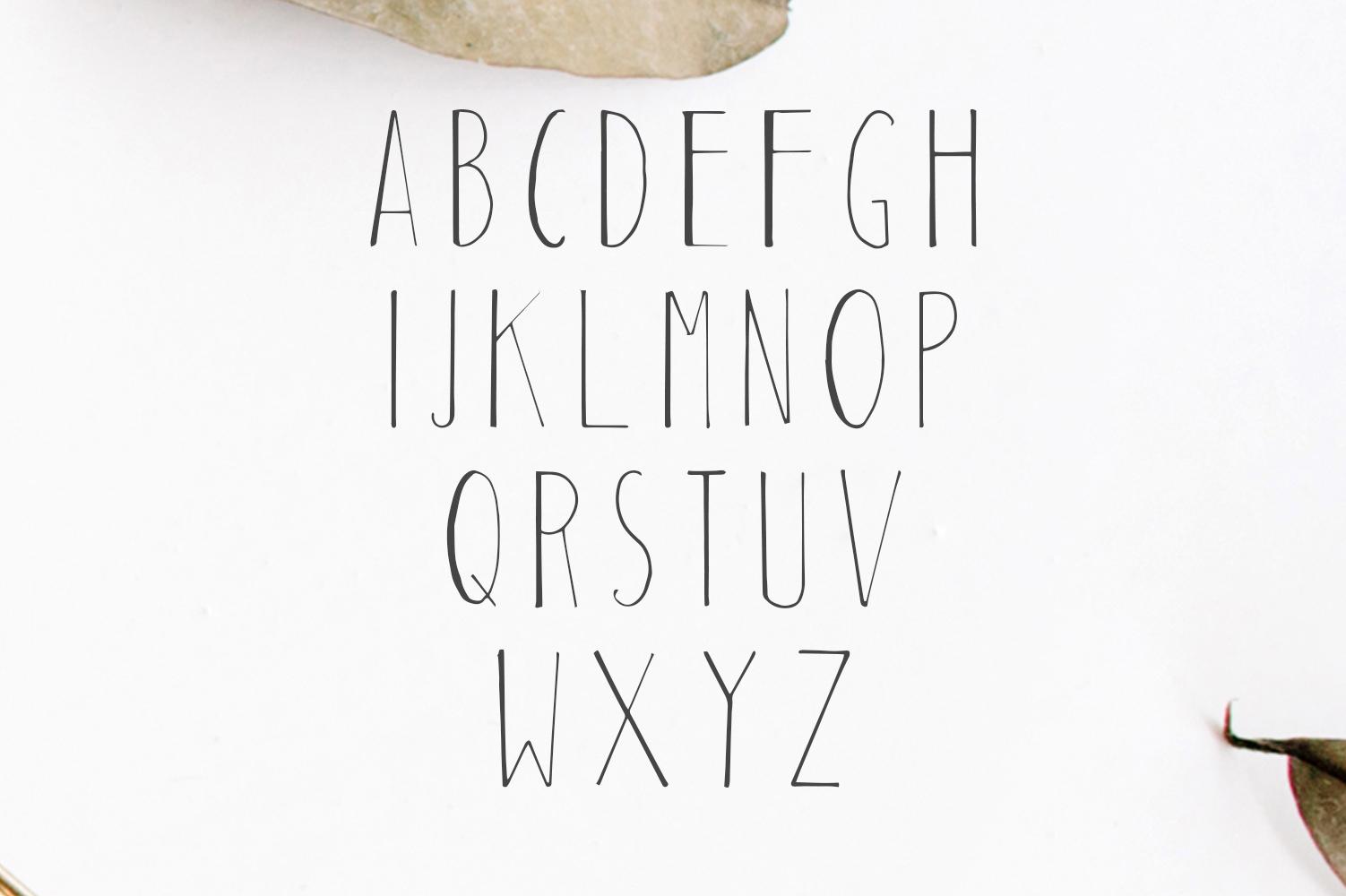 Habel Handmade Duo Font + Bonus Free example image 3