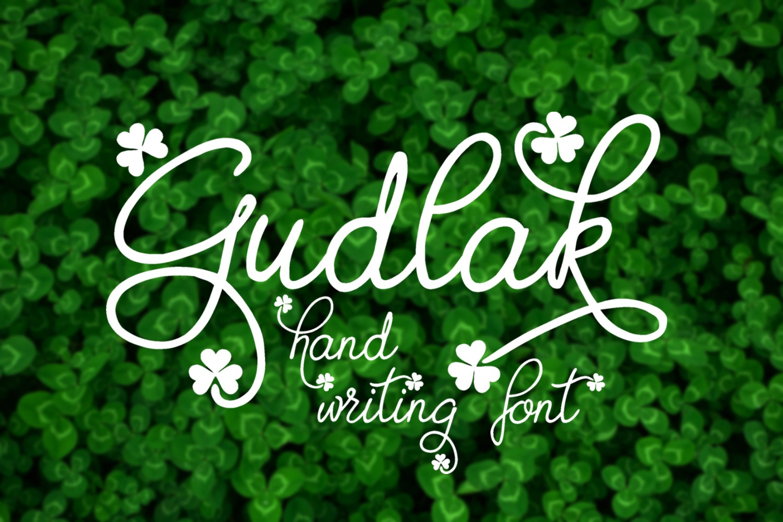 Gudlak Font example image 1