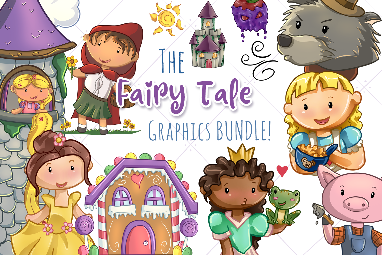 The Fairy Tale Graphics Bundle! example image 1