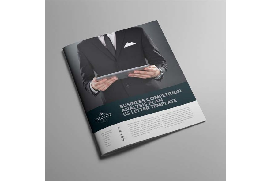 Business Competition Analysis Plan US Letter Template example image 6