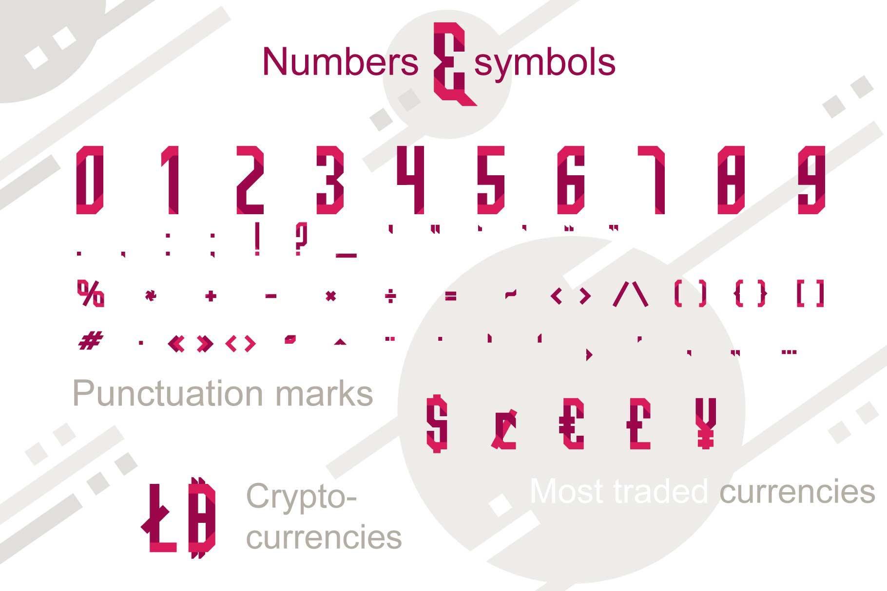 Quarta font family example image 4