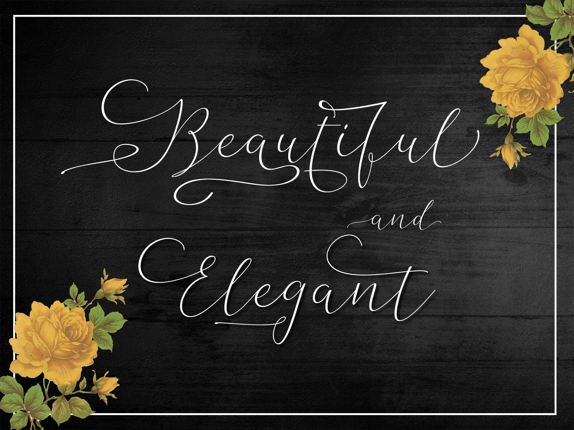 The Bellaria Script Discount 50  example image 7