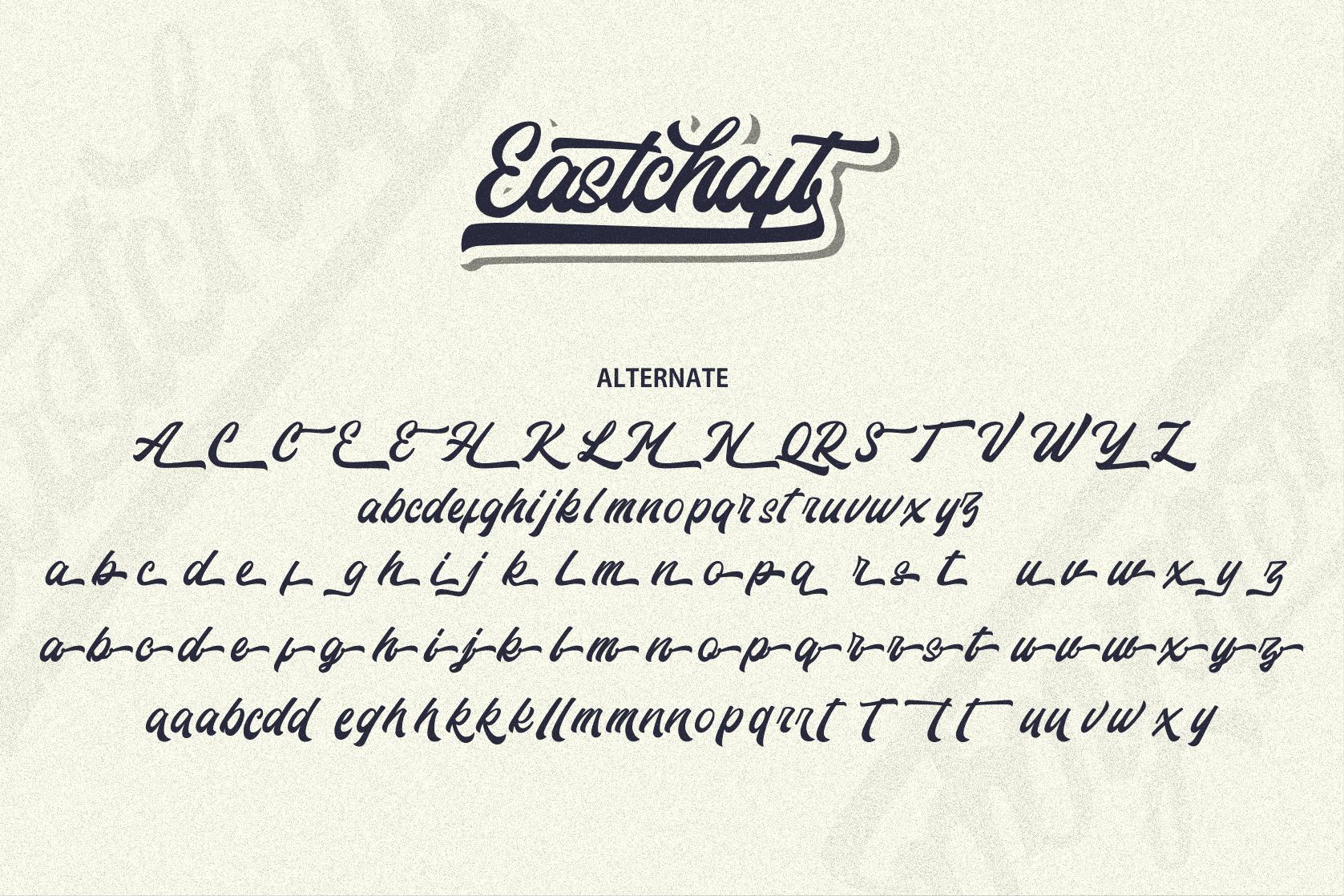 Eastchaft - Script Font example image 12