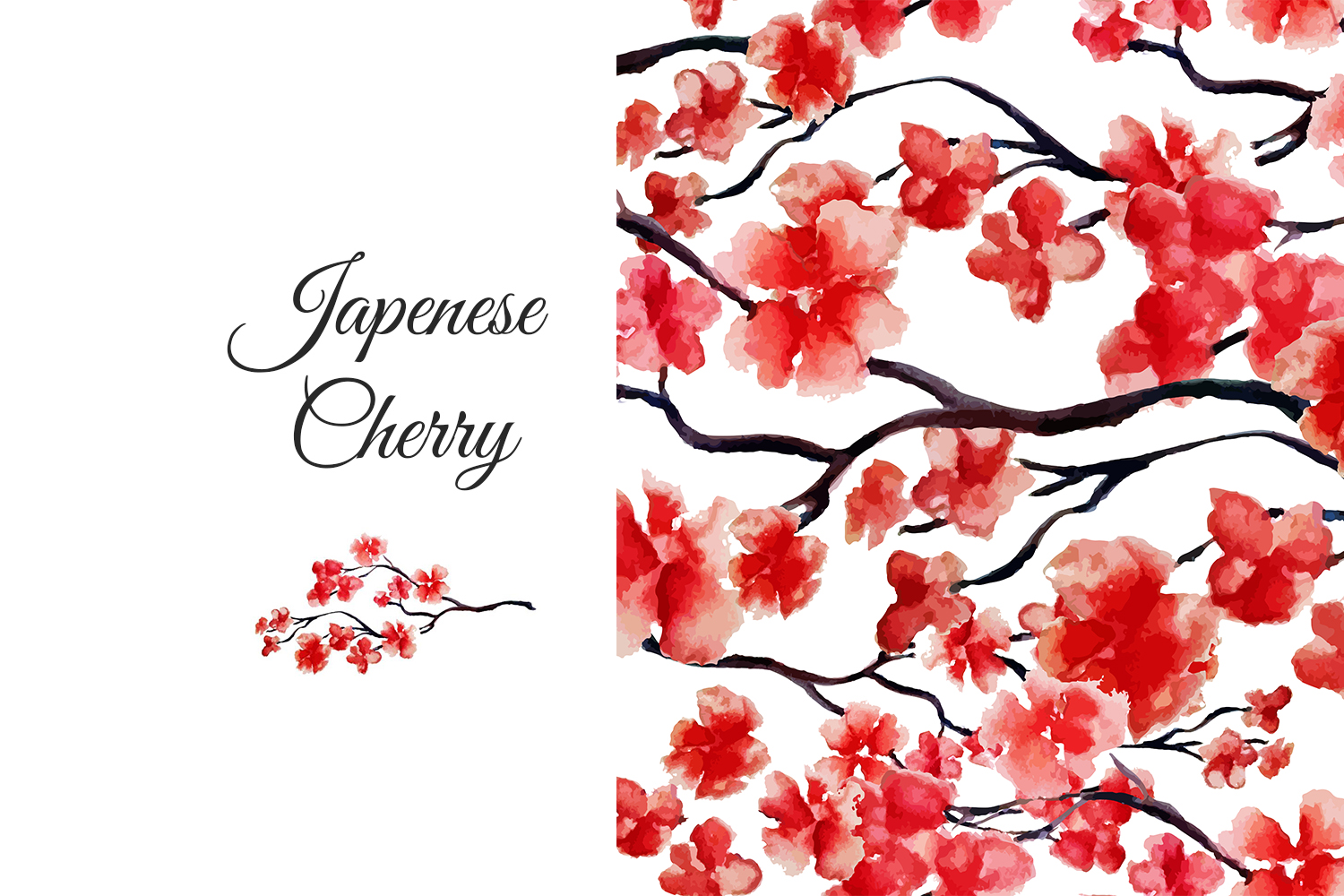 Japenese cherry collection example image 1