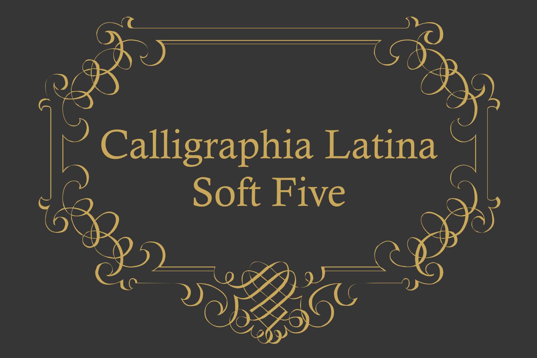 Calligraphia Latina Soft Five example image 2