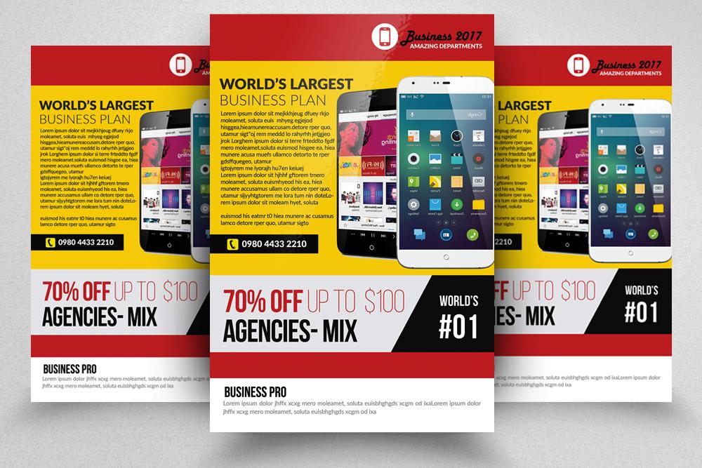 10 Corporate Flyer Templates Bundle example image 10