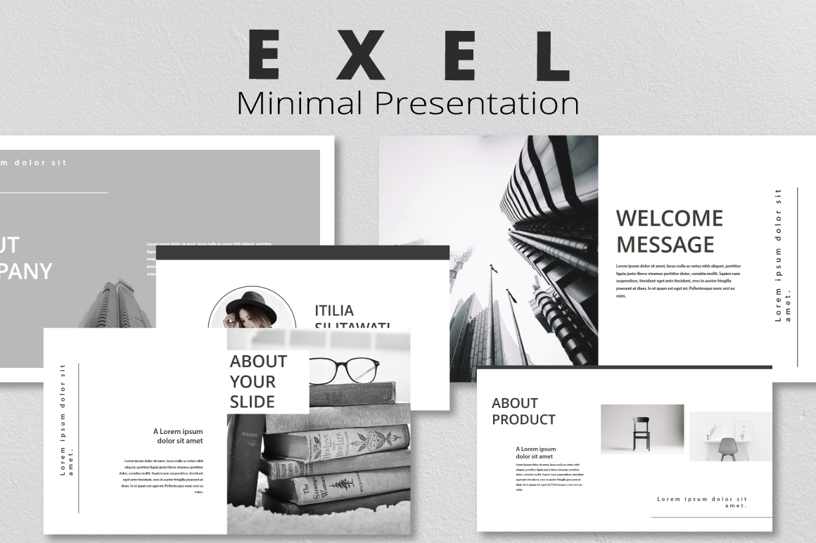4in1 Bundle Keynote Template example image 2