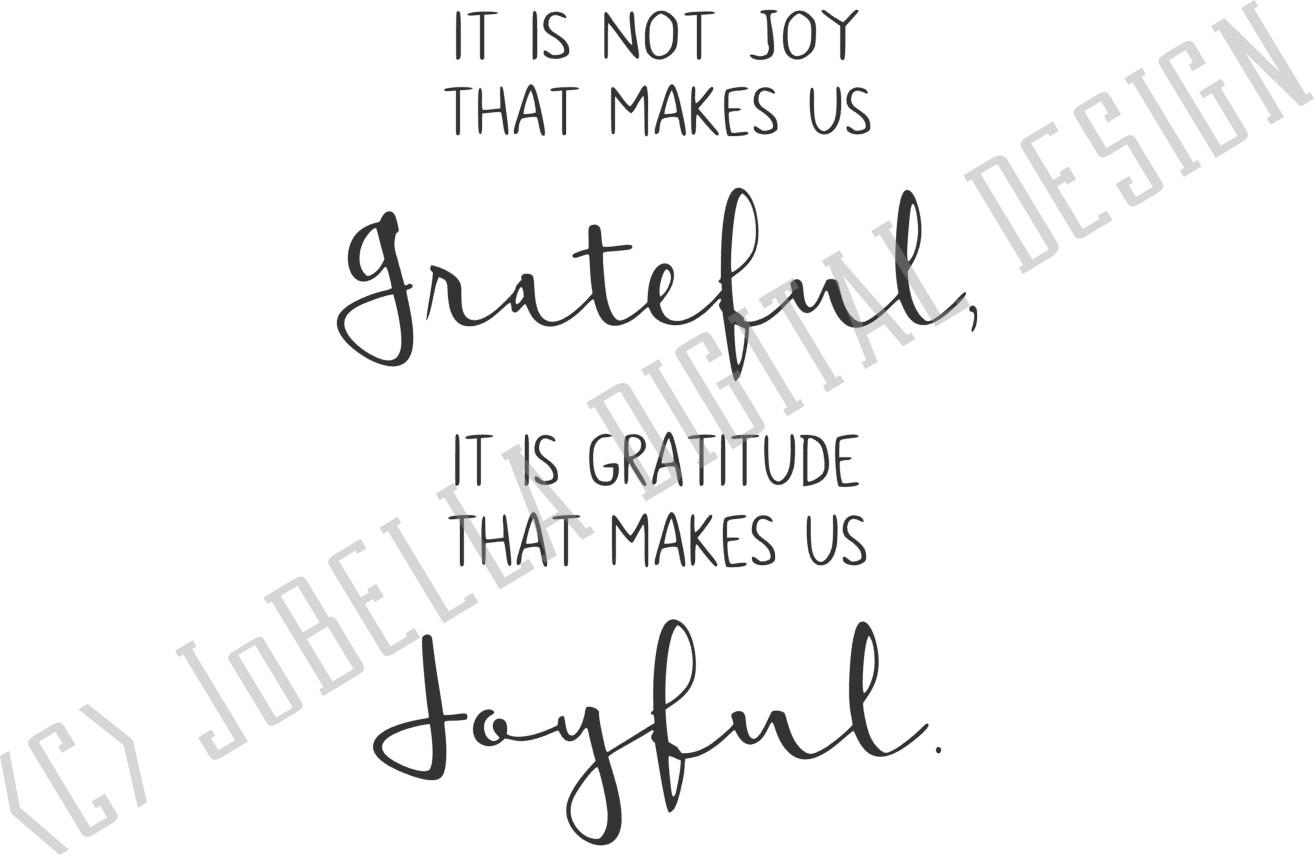 Joyful and Grateful SVG and Printable Farmhouse Design example image 2