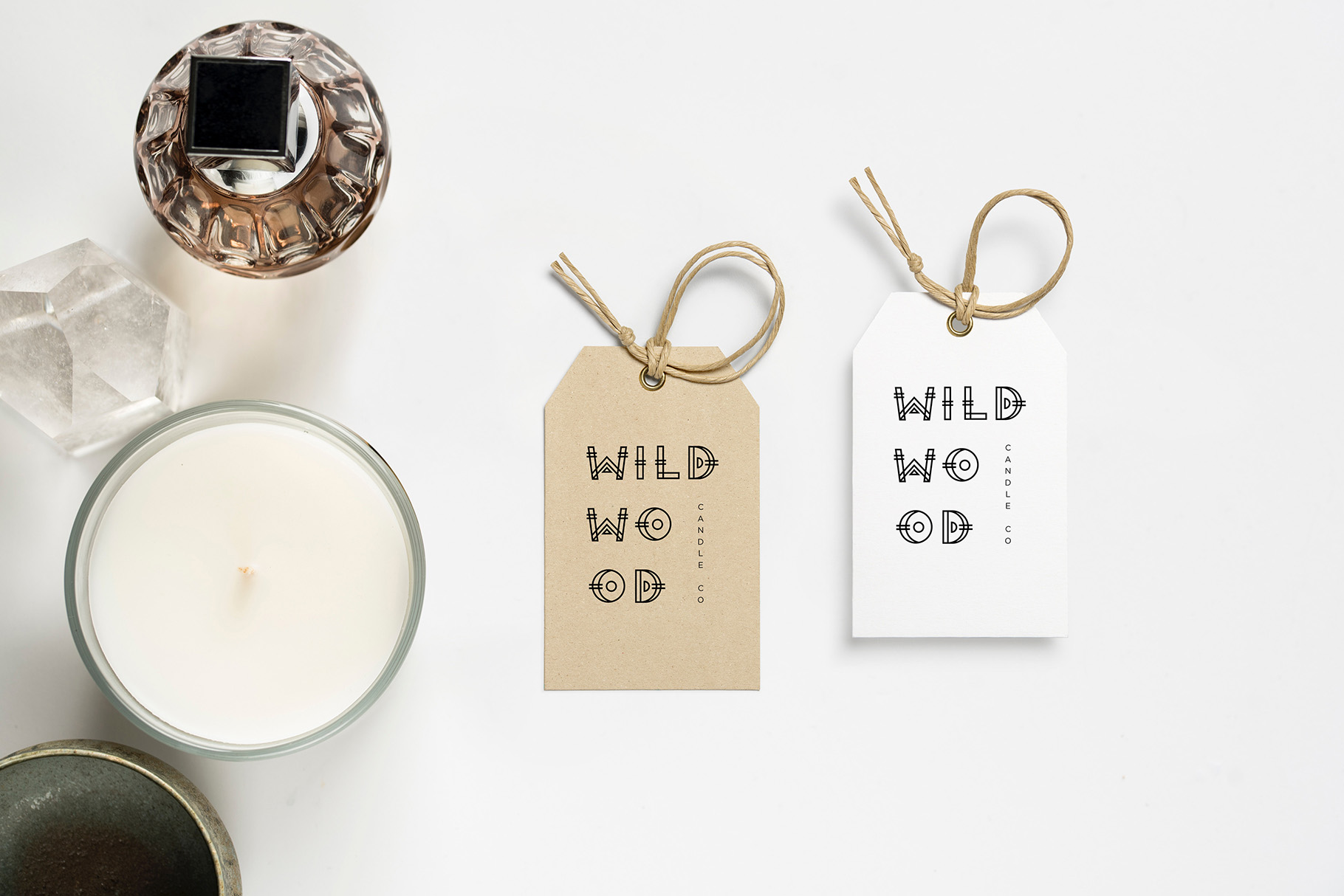 Wild Wood Font & Extras example image 9