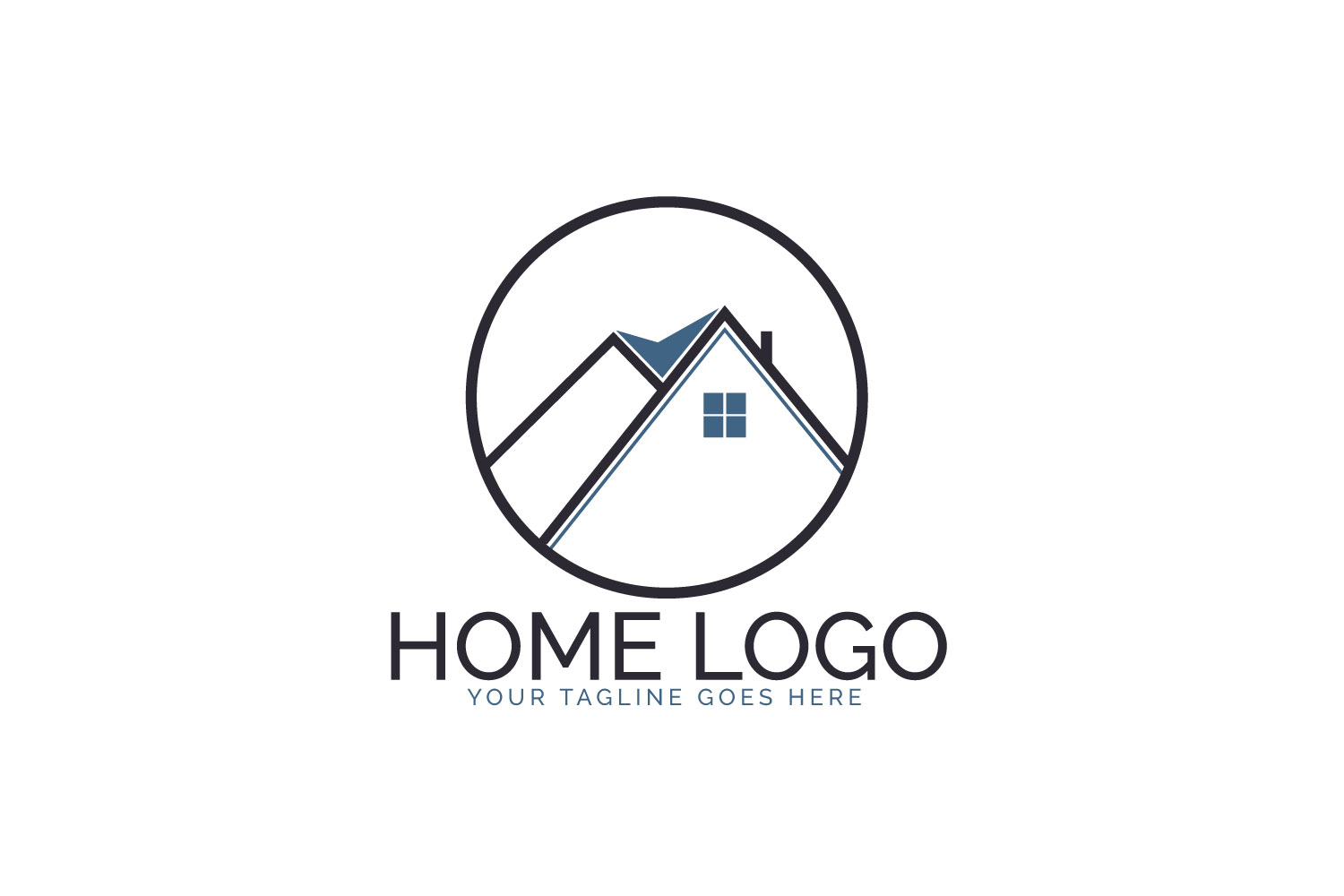 Home Logo Design. example image 1