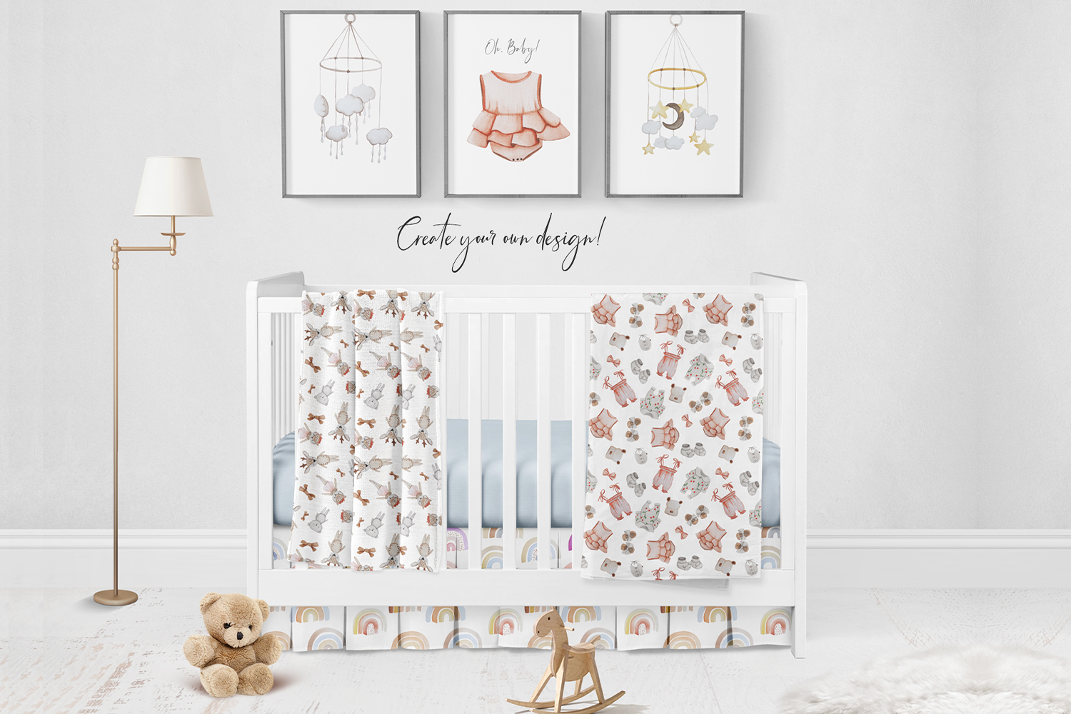 Baby Boom watercolor collection example image 11