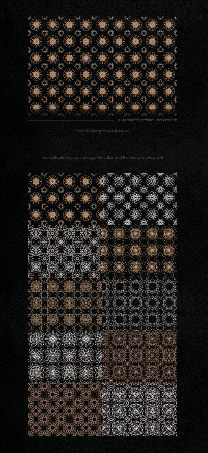 Geometric Patterns Kit example image 5