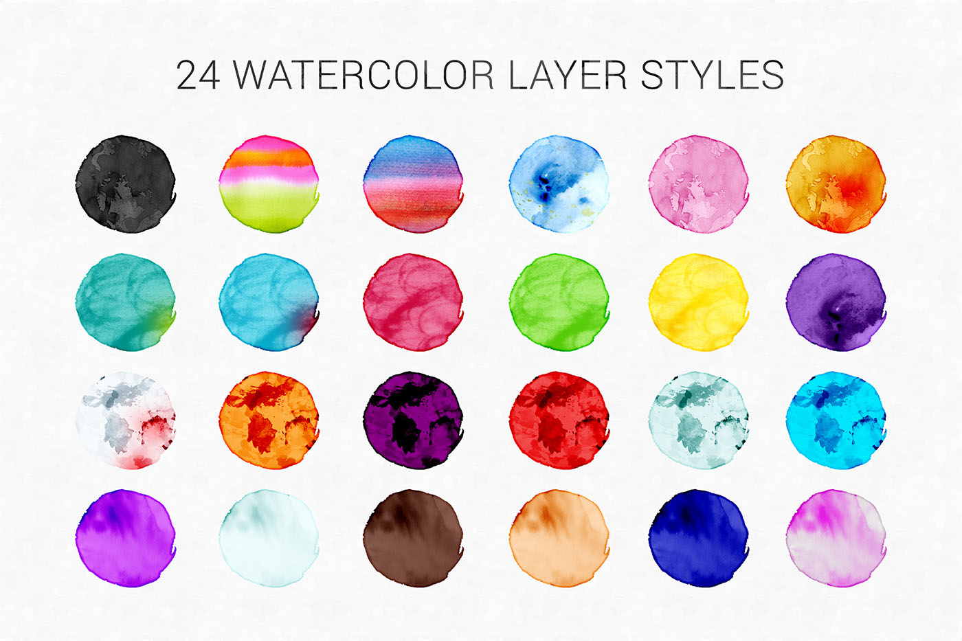 Watercolor Kit For Photoshop example image 3